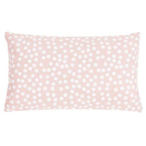 Poduszka Allover Dots 30x50 - różowy ||kremowy (8717266324482)