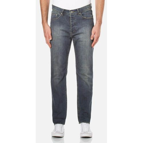 Cheap monday  men's work denim relaxed tapered fit jeans - sign - w32/l32