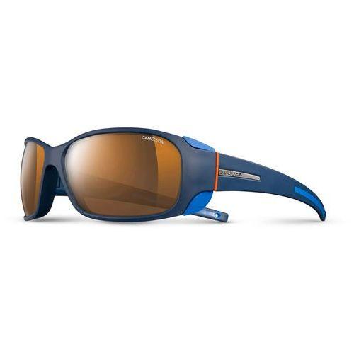 Julbo montebianco cameleon okulary pomarańczowy/niebieski 2018 okulary polaryzacyjne (3660576290839)