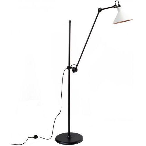 Lampe gras n°215 - lampa podłogowa - czarny/biały/miedziany