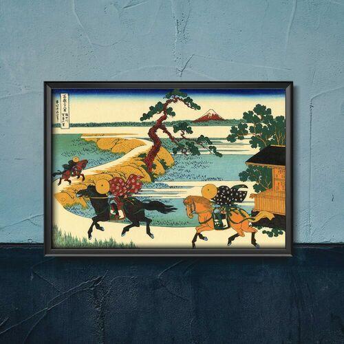 Plakat do pokoju plakat do pokoju pola sekiya katsushika hokusai marki Vintageposteria.pl