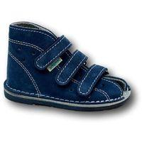 Adamki Buciki  profilaktyczne wzór 012n, kolor jeans/biały