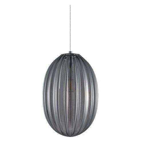 Italux Parlo PND-8112-1B-SG lampa wisząca zwis 1x40W E14 szary dymiony (5902854532674)