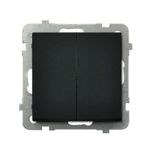Łącznik podwójny schodowy Czarny metalik - ŁP-10R/m/33 Sonata
