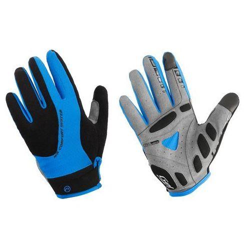 610-80-54_ACC-M Rękawiczki z długimi palcami Accent Champion czarno-niebieskie M (5902175633760)