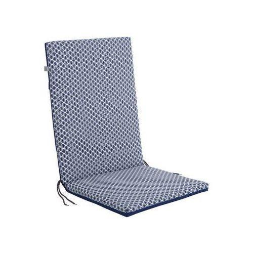 Poduszka na krzesło 44 x 107 x 4 cm CINO granatowa PATIO