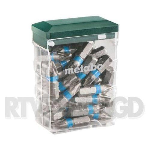 """Metabo Bit box PZ 2 """"SP"""" 25 części (626711000) - produkt w magazynie - szybka wysyłka! z kategorii Wiertła"""