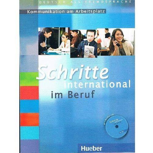 Schritte International Im Beruf Kommunikation Am Arbeitsplatz (Ćwiczenia z Płytą Audio CD), oprawa miękka