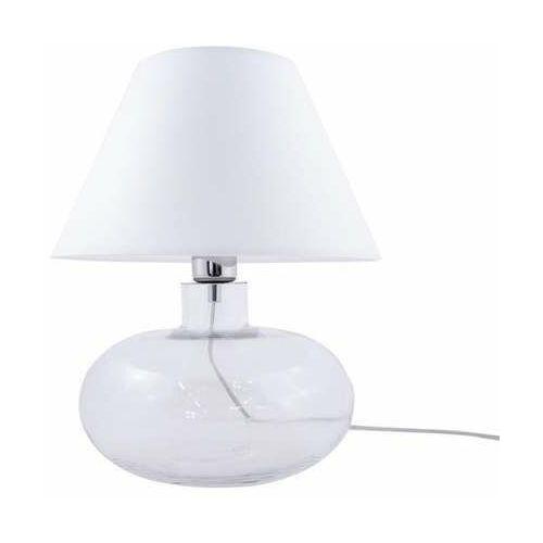 Zuma line mersin 5512wh lampa stołowa 1x40w e27 biała/transparentna
