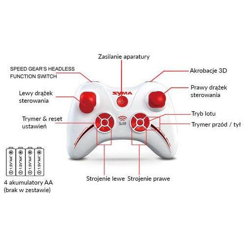 Dron  x12s nano 2,4ghz zasięg do 20m (x12s) darmowy odbiór w 21 miastach! marki Syma