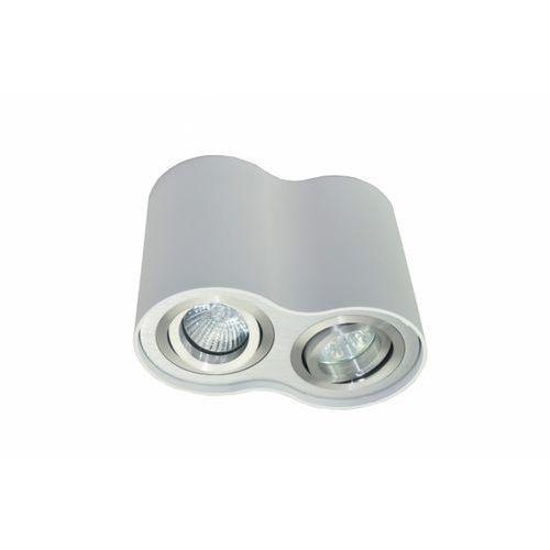 Lampa sufitowa rondoo sl 2 biała/aluminium bzl, 50407-wh marki Zuma line