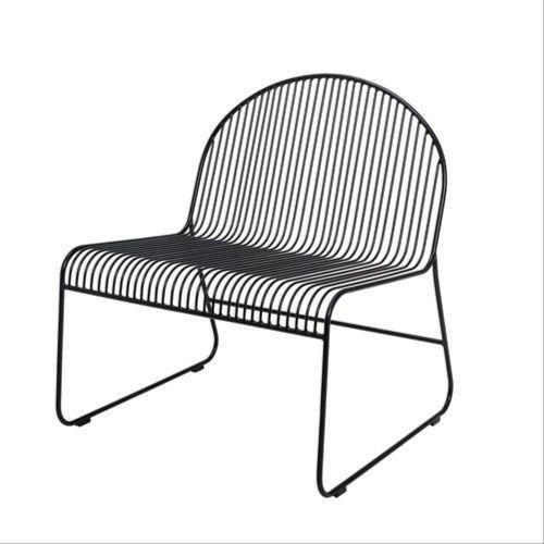 Fotel Friend Lounge Chair, czarny - Bloomingville
