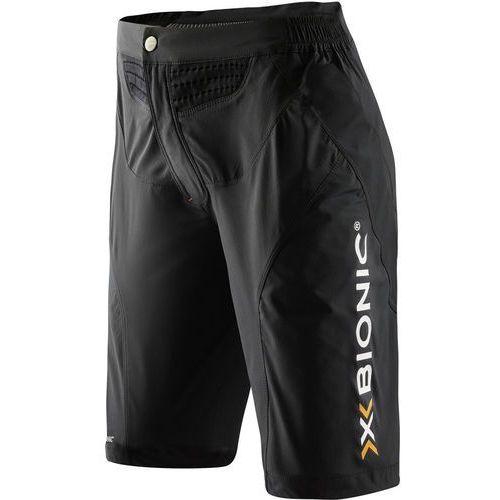 X-bionic mountain bike spodnie rowerowe kobiety czarny s 2017 spodenki rowerowe