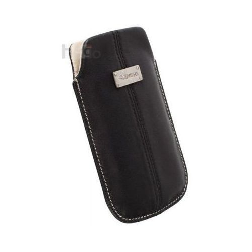 Futerał Krusell Luna Sony Xperia E C1505 CZARNY LARGE, kolor czarny