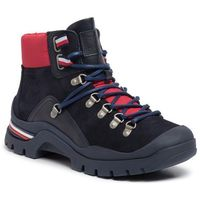 Trzewiki - corporate outdoor boot fm0fm02414 midnight 403 marki Tommy hilfiger