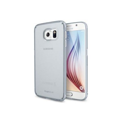 Rearth Ringke Slim Frost Samsung S6 - Grey, kolor szary