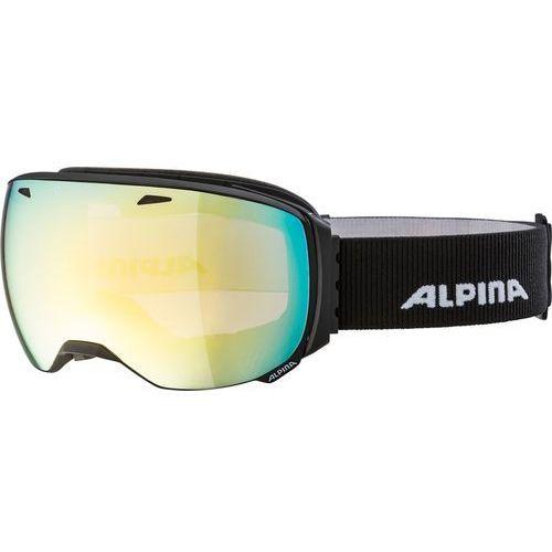Alpina Sports gogle narciarskie Big Horn QVM black matt (4003692274953)