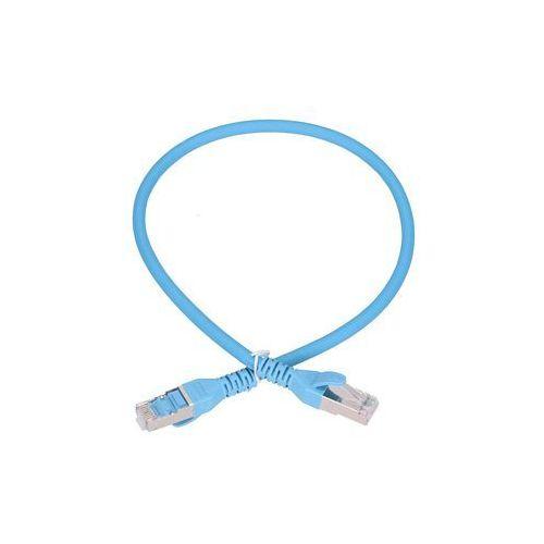 patchcord lan kat.6a s/ftp 10gbit/s 0,5m miedź kabel sieciowy skrętka marki Extralink