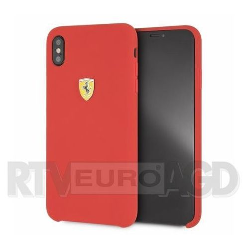 Ferrari FESSIHCI65RE iPhone Xs Max (czerwony) (3700740436837)