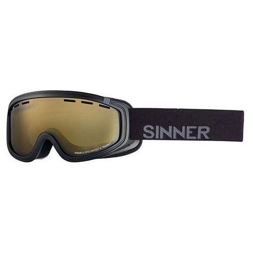 Gogle narciarskie visor iii otg sigo-164 polarized 10a-pc1 marki Sinner