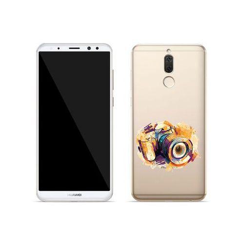 Huawei Mate 10 Lite - etui na telefon Crystal Design - Kolorowy aparat, ETHW618CRDGDG048000