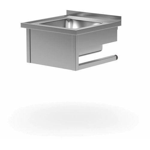 Stół wiszący ze zlewem | komora 400x500x(H)250mm | szer: 600 - 700mm | gł: 700mm