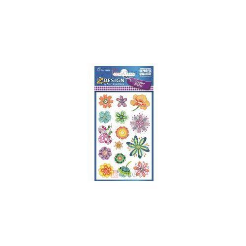 Naklejki z kwiatami - różne kwiaty (4004182544846)