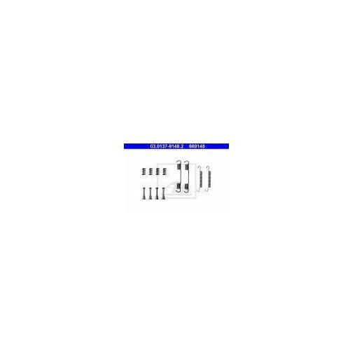 ATE Zestaw akcesoriów, szczęki hamulcowe hamulca postojowego - 03.0137-9148 z kategorii Szczęki hamulcowe