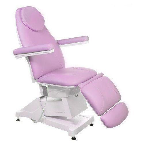 Elektryczny fotel kosmetyczny amalfi bt-158 wrzos marki Vanity_b