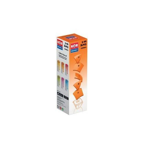 kor bright orange cover - zabawka edu marki Geomag