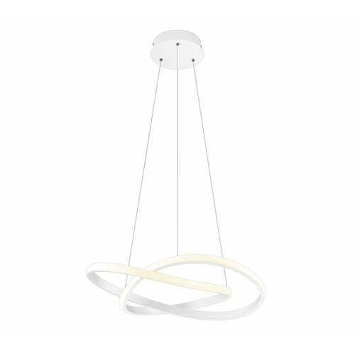 Trio RL Course R32051131 lampa wisząca zwis 1x27W LED biała/biała, kolor Biały