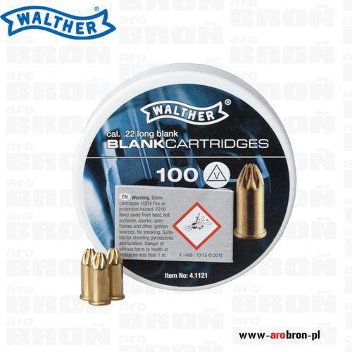 Amunicja hukowa WALTHER 6mm LONG 100szt .22 - naboje, kartridże hukowe do pistoletów i rewolwerów hukowych alarmowych
