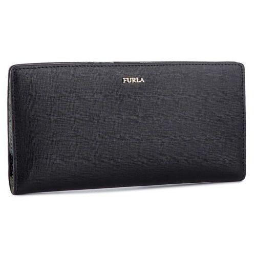 Duży portfel damski - babylon 1025457 p pz59 b30 onyx/toni gesso marki Furla