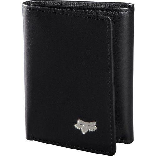 Portfel - trifold leather wallet black (001) marki Fox