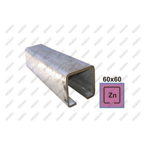 Profil do bramy przesownej Zn, 60x60x4mm, L3m