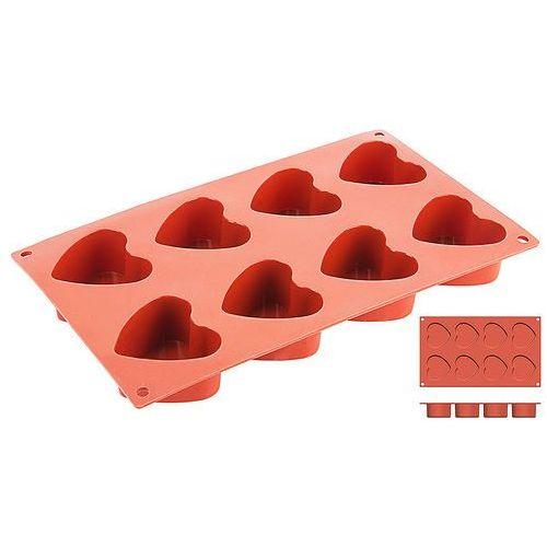 Forma silikonowa do pieczenia, serce, o średnicy 60 mm   CONTACTO, 6648/060