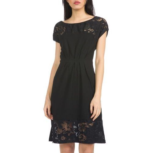 moon dress czarny s marki Desigual