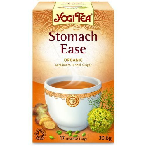 Yogi tea, usa Herbata na trawienie bio (yogi tea) 17 saszetek po 1,8g