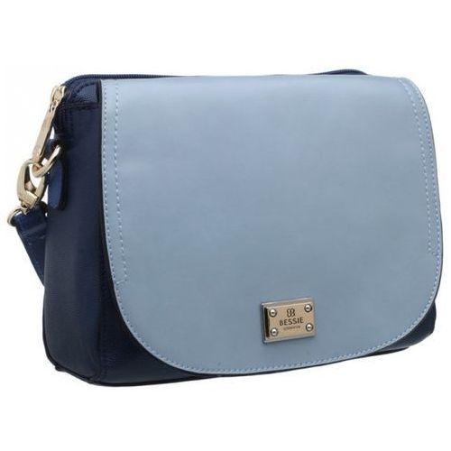 torebka damska niebieski uni marki Bessie london