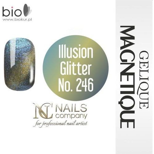 GELIQUE MAGNETIQUE - Illusion Glitter No. 246 - 6 ml