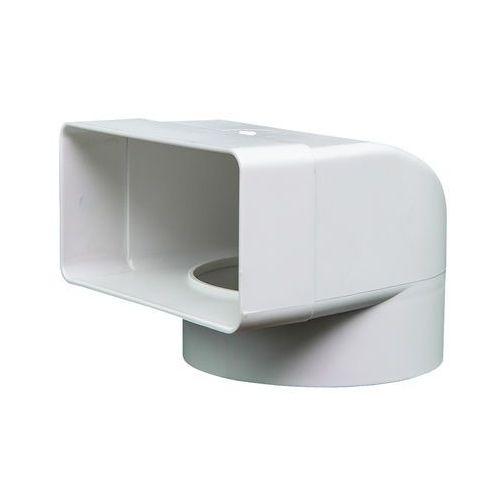 Kolanko płaskie poziome łącznikowe 120x60 mm kod 430 - specjalistyczny sklep - 28 dni na zwrot - raty 0% marki Domus