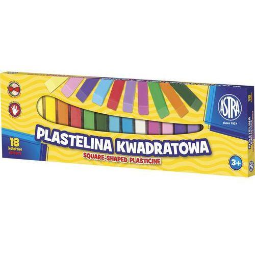 Astra Plastelina kwadratowa 18kol. 83814904 (5900263030545)