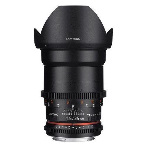 Samyang 35mm T1.5 VDSLR AS UMC II Sony E