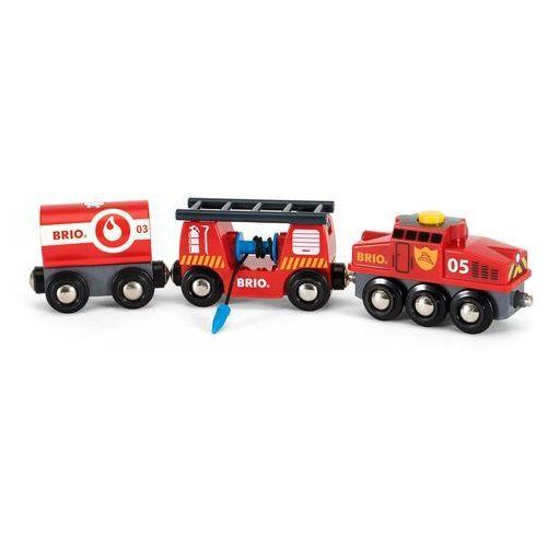 Brio drewniana lokomotywa do przeładunków 33844 (7312350338447)
