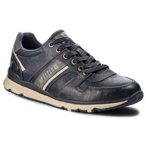 Sneakersy MUSTANG - 43A002 Granatowy, kolor niebieski