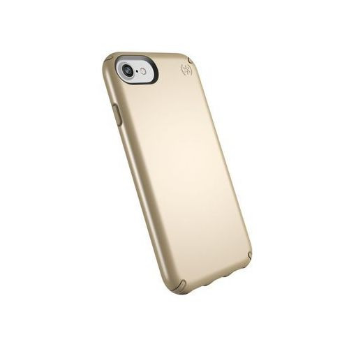 presidio metallic etui obudowa 8 / 7 / 6s / 6 (pale yellow gold metallic/camel brown) marki Speck