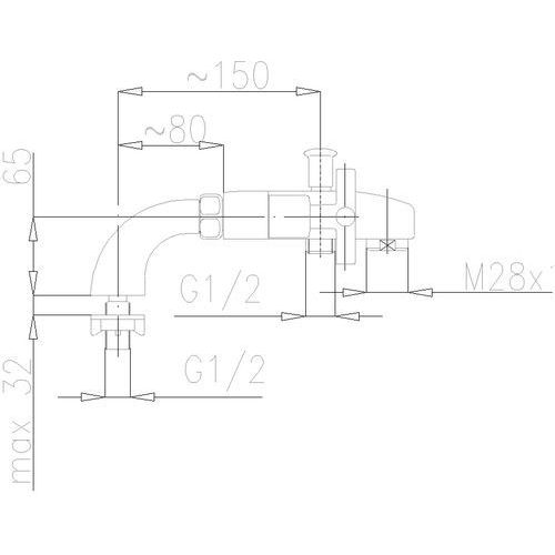 Bateria KFA SYMETRIC 345-010-00