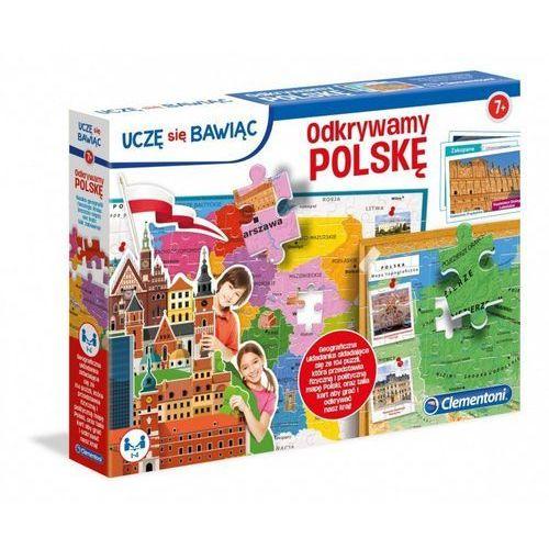 Clementoni Puzzle odkrywamy polskę (8005125500215)