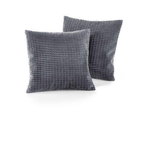 Narzuta na sofę w wypukły wzór bonprix szary