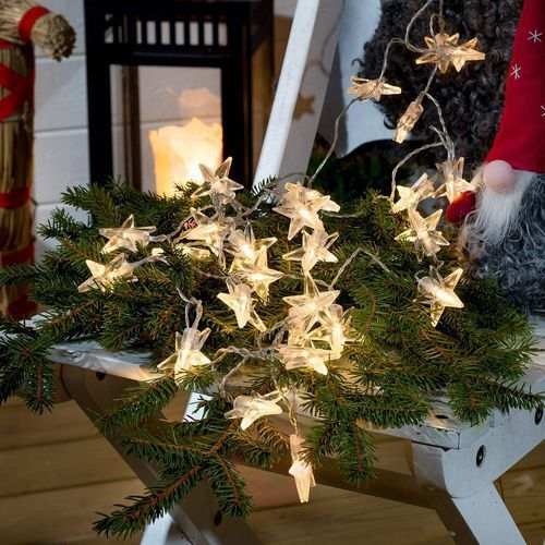 Konstmide christmas Lampki choinkowe led konstsmide 3760-103, wewnętrzne, led, ciepły biały